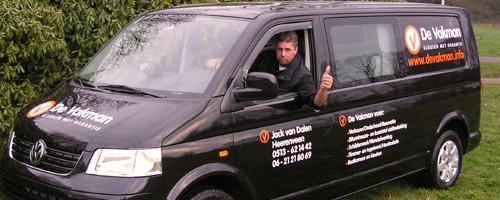 De Vakman Jack van Dalen| Klusbedrijf in Heerenveen