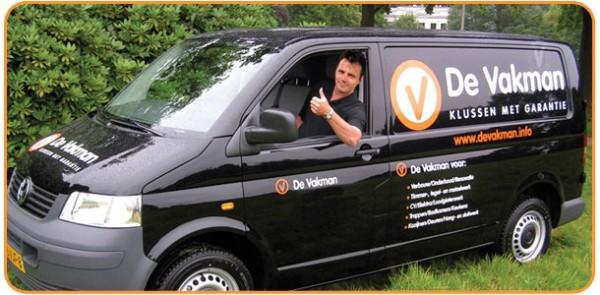 De Vakman busfoto | Klusbedrijf in Leeuwarden