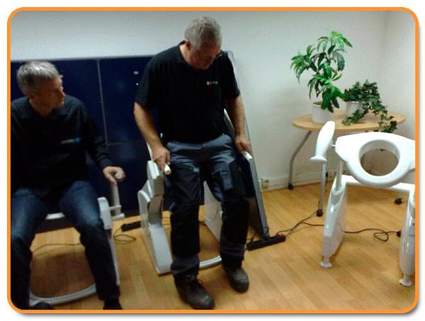 Sanmedi training met De Vakmannen