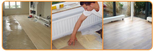 Vloer leggen door Klusbedrijf uit Maarssen | De Vakman Junior Rietvelt