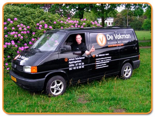 De Vakman Johan Schriemer | Klusbedrijf in Appingedam