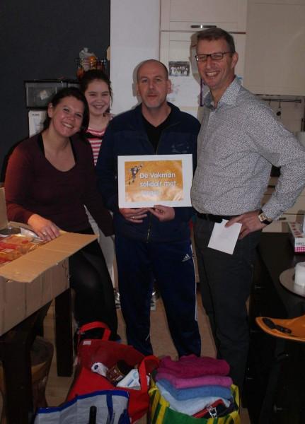 Grote Vakman familie helpt De Vakman Jurgen Hollebrand