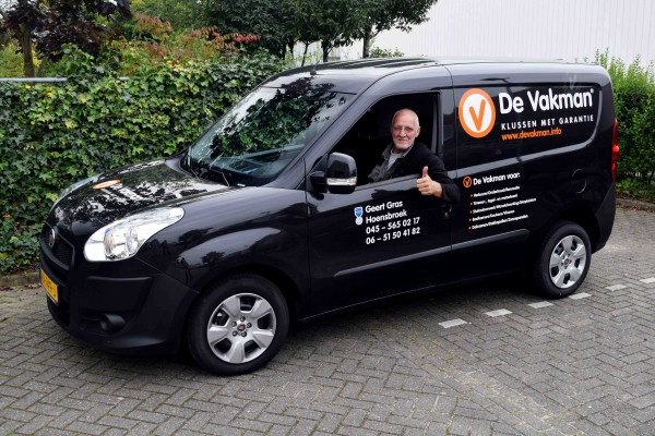 Klusbedrijf en Metselaar in Hoensbroek | De Vakman Geert Gras