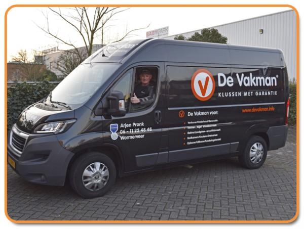 Klusbedrijf en Loodgieter in Wormerveer | De Vakman Arjen Pronk