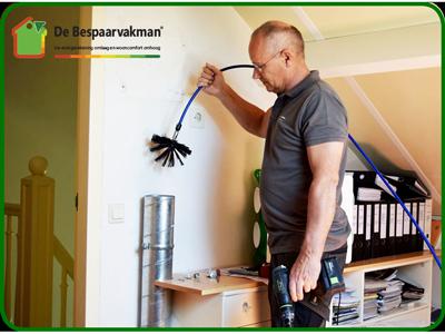 Klusbedrijf uit Ede De Bespaarvakman Theo van der Hek voor reiniging ventialtiekanaal