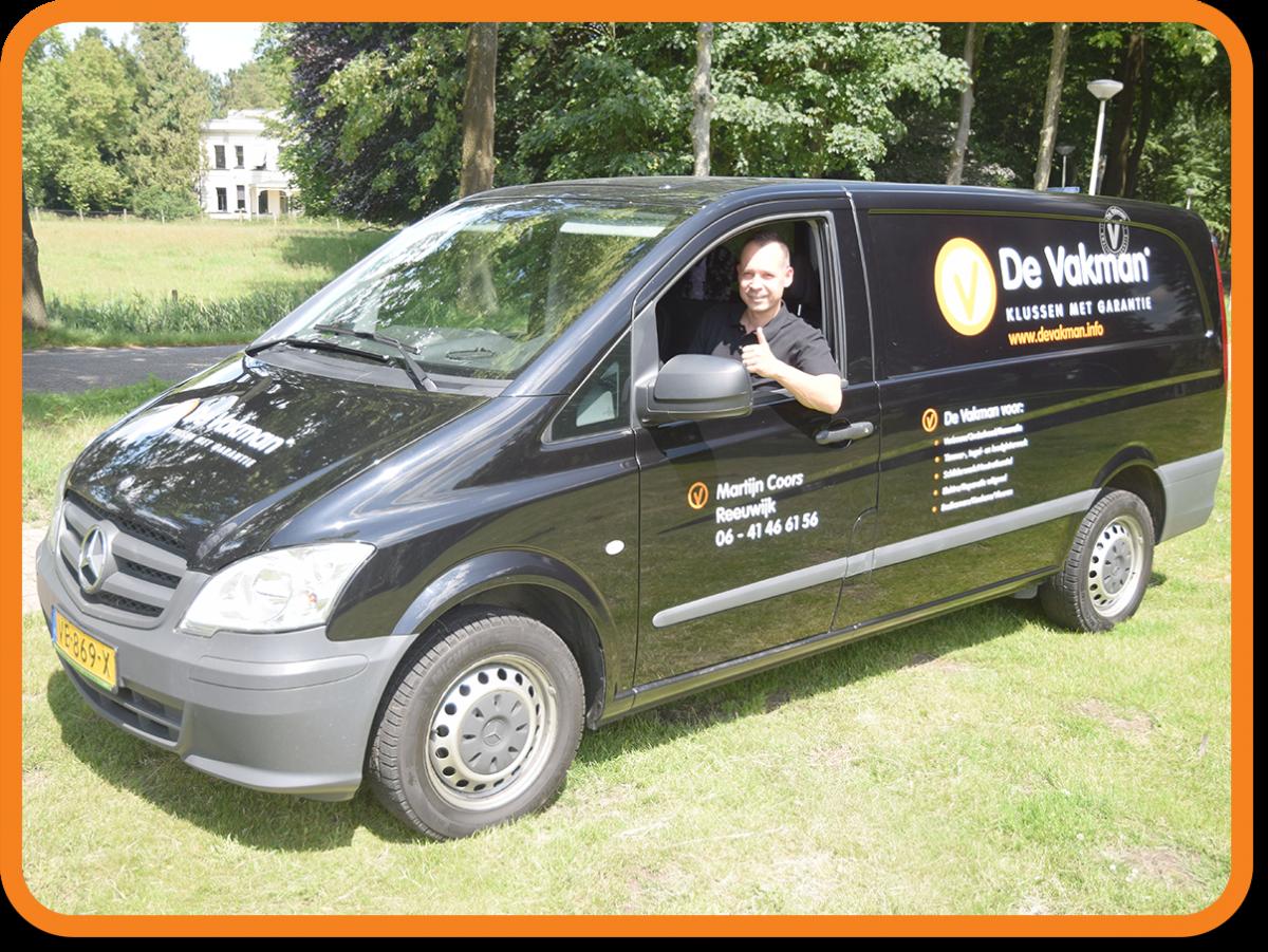 KIusbedrijf in Reeuwijk | De Vakman Martijn Coors